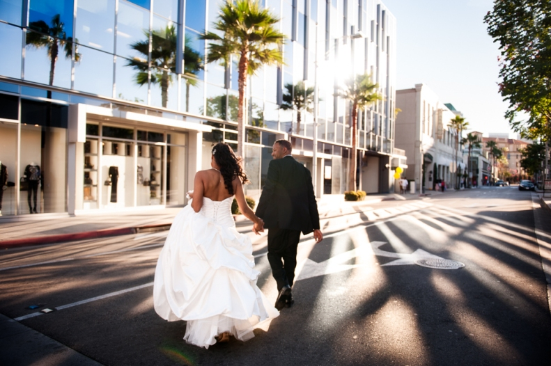 Beverly Hills Wedding-Vivian Lin Photo