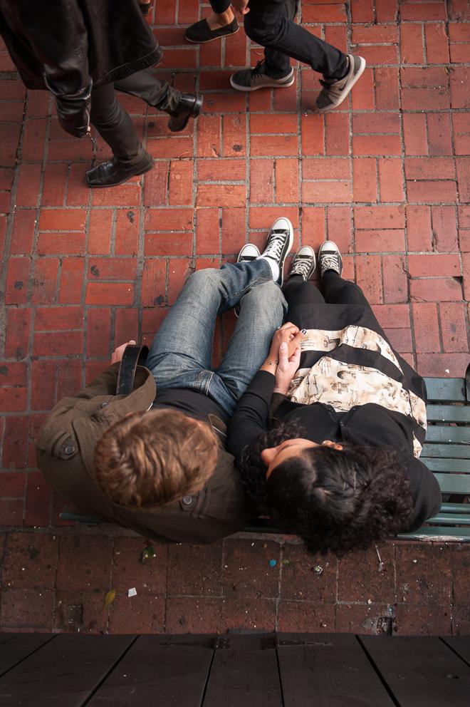 Olvera Street Engagement-Vivian Lin Photo
