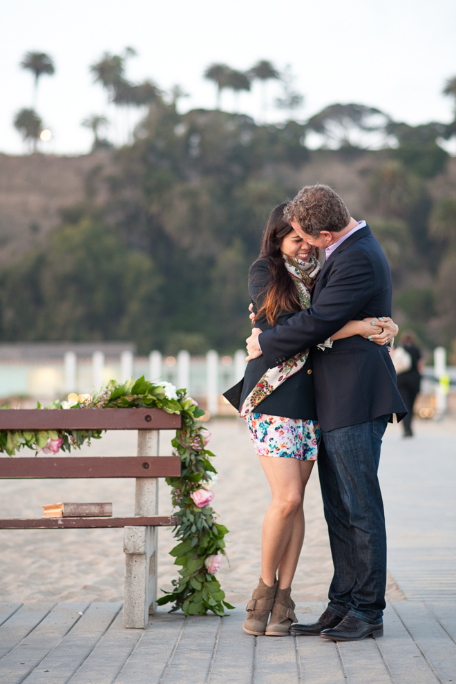 Santa Monica Proposal-Vivian Lin Photo