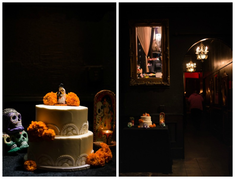 Dia De Los Muertos Wedding Cake_Vivian Lin Photo