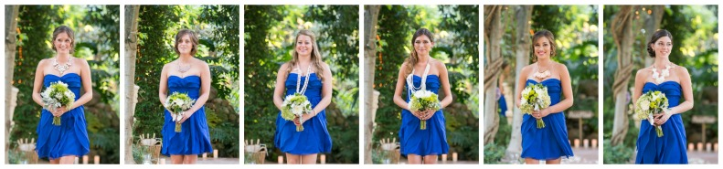 Blue Bridesmaids_Vivian Lin Photo