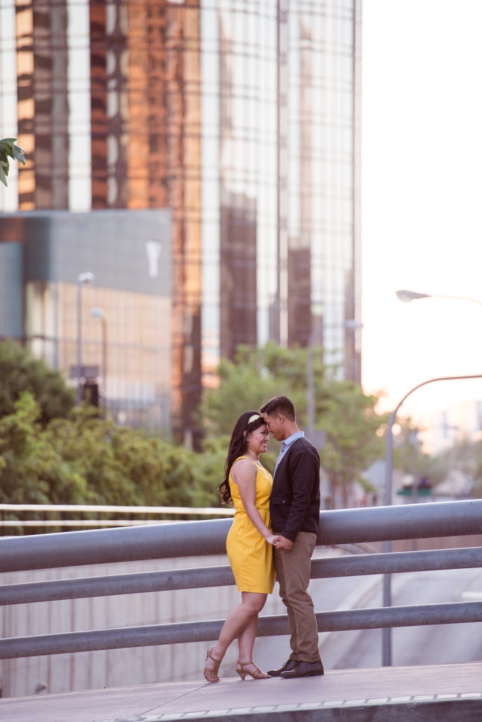 Downtown LA Engagement_Vivian Lin Photo_8144
