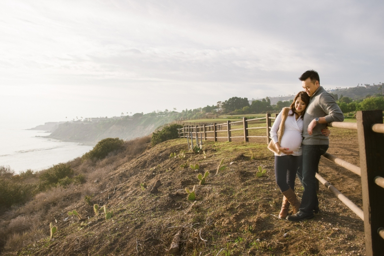 Palos Verdes Maternity Session_Vivian Lin Photo
