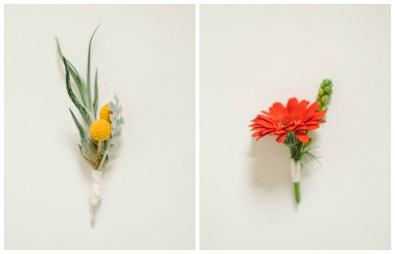 Airplant Boutonniere_Vivian Lin Photography