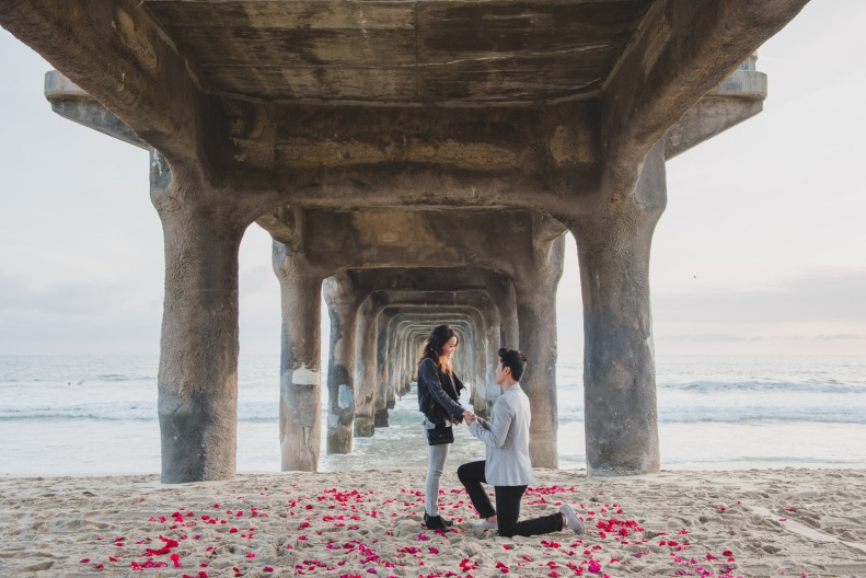 Manhattan Beach Proposal_Vivian Lin Photo-29