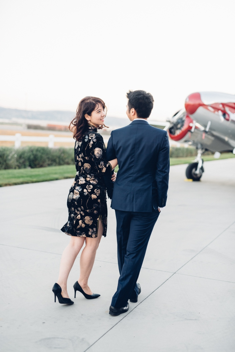 Vintage Airplane Engagement_D&B_Vivian Lin Photography_105