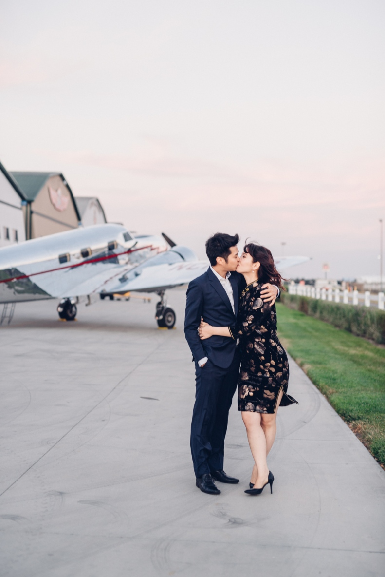 Vintage Airplane Engagement_D&B_Vivian Lin Photography_131