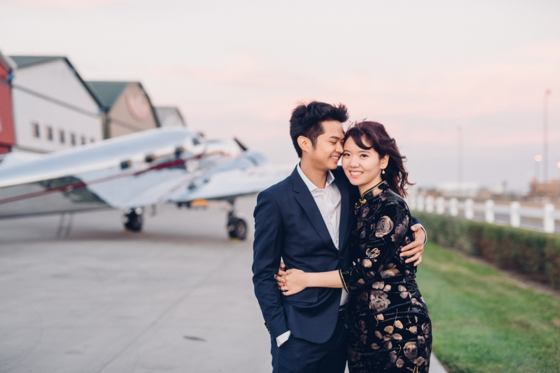 Vintage Airplane Engagement_D&B_Vivian Lin Photography_138