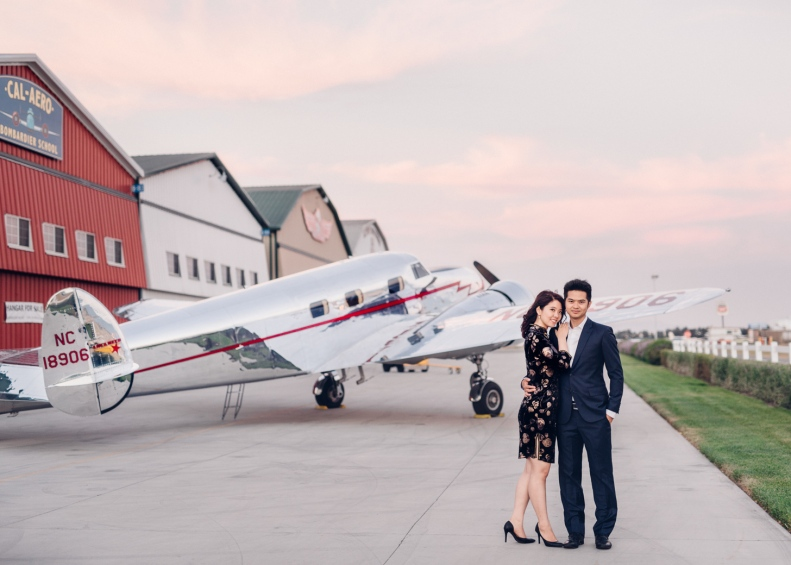 Vintage Airplane Engagement_D&B_Vivian Lin Photography_141