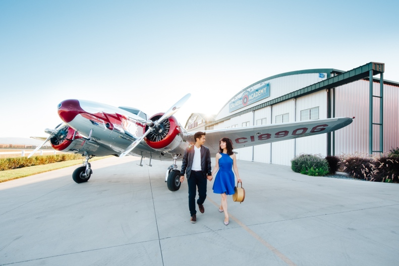 Vintage Airplane Engagement_D&B_Vivian Lin Photography_26-Edit