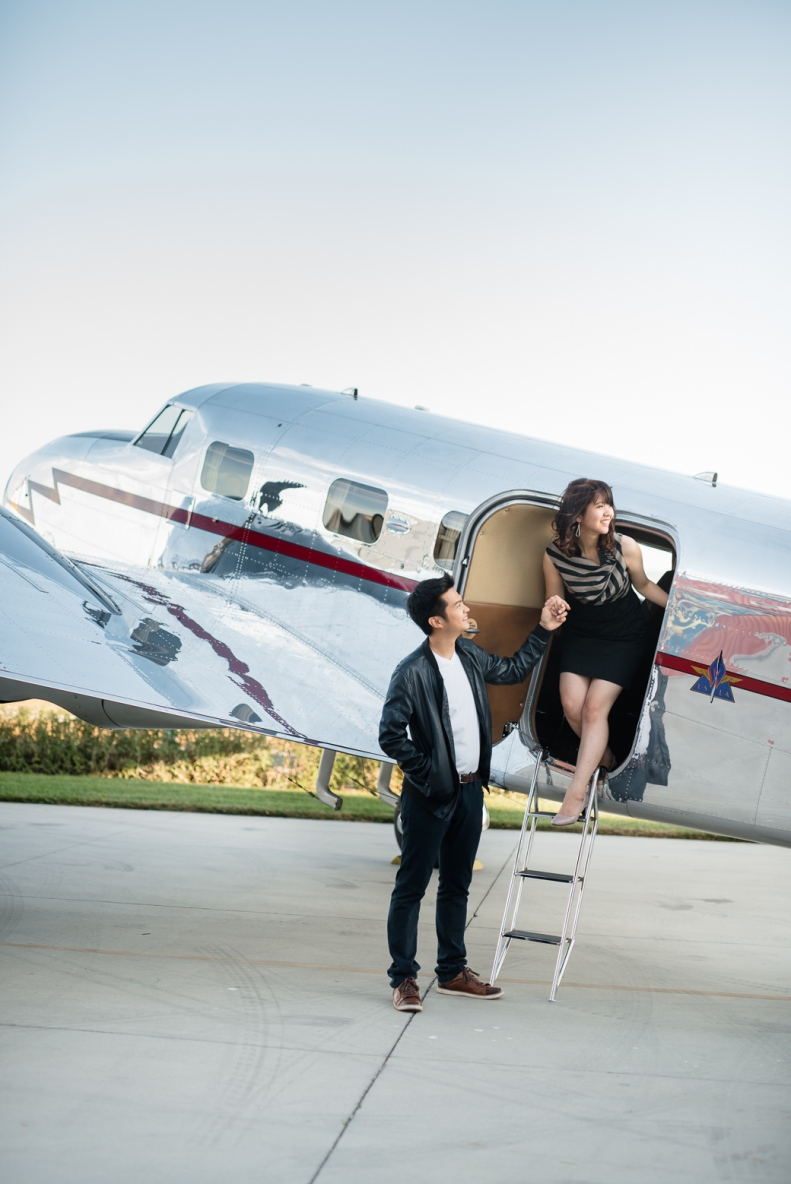 Vintage Airplane Engagement_D&B_Vivian Lin Photography_35