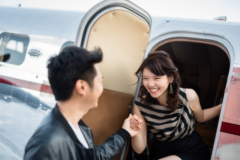 Vintage Airplane Engagement_D&B_Vivian Lin Photography_40