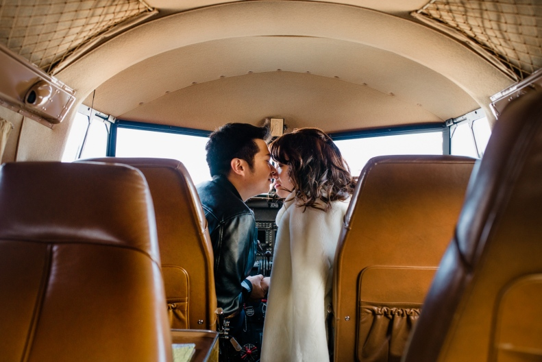 Vintage Airplane Engagement_D&B_Vivian Lin Photography_58