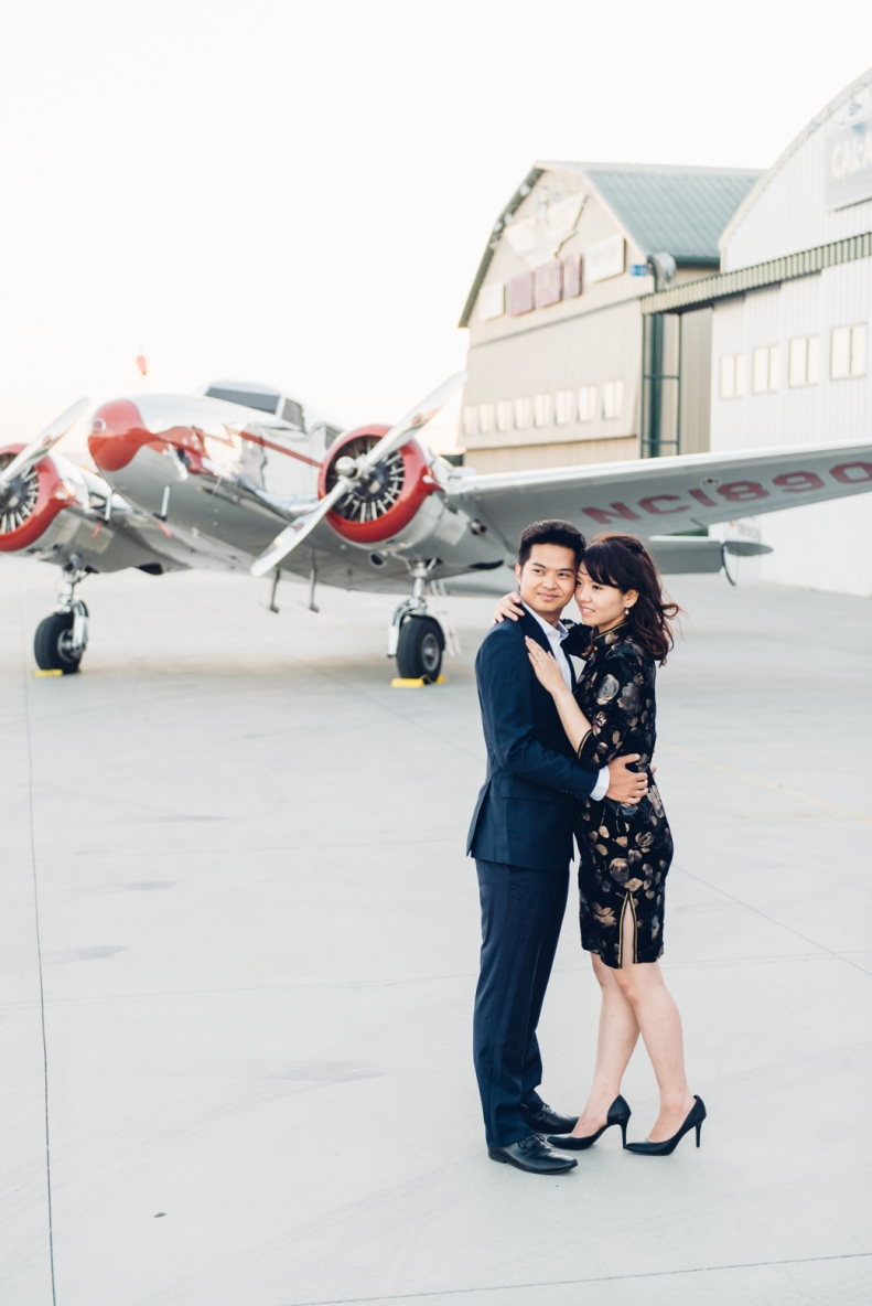 Vintage Airplane Engagement_D&B_Vivian Lin Photography_93