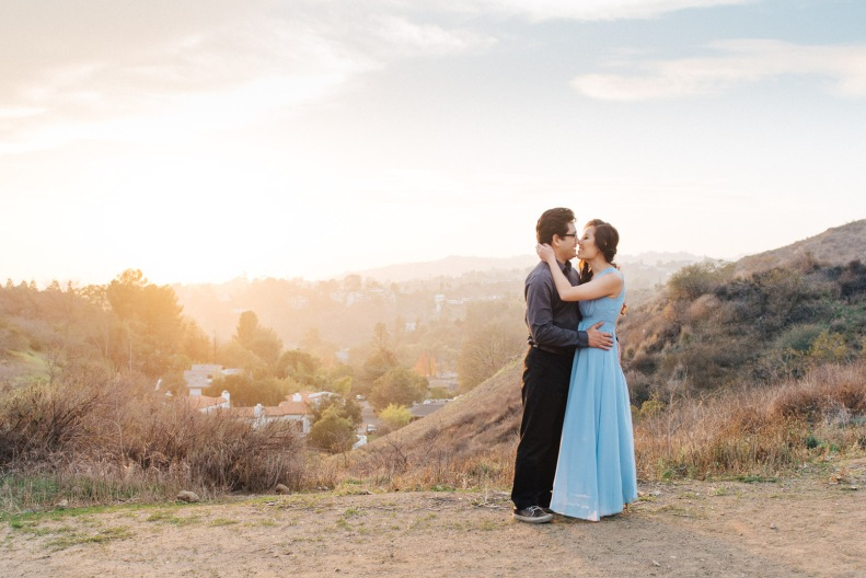 Griffith Park Engagement_ZY_Vivian Lin Photography_58