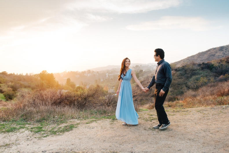 Griffith Park Engagement_ZY_Vivian Lin Photography_60