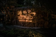 Gobo on a waterfall! Great job, GC!