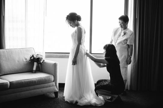 Doubletree Little Tokyo Wedding_CL_Vivian Lin Photo_33